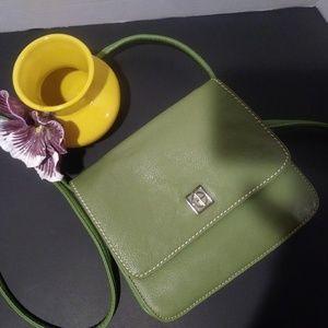 Giani Bernini Crossbody leather green
